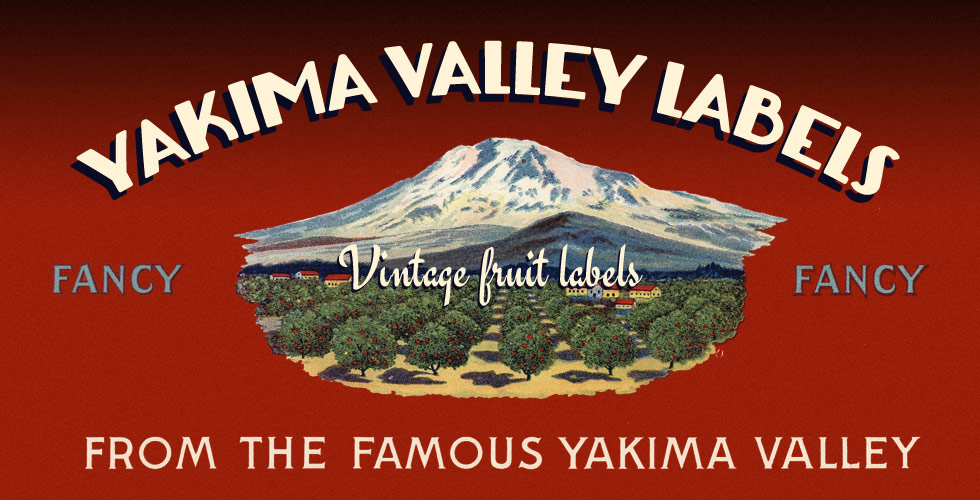 Yakima Valley Fruit Labels